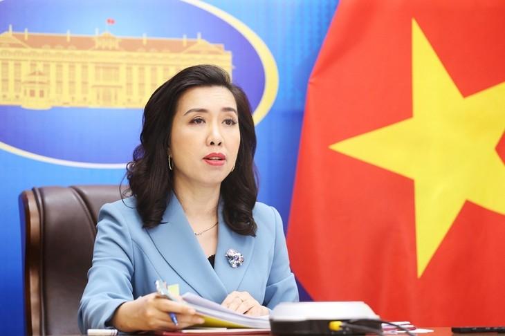 Vietnam reafirma su posición coherente sobre el tema del Mar del Este - ảnh 1