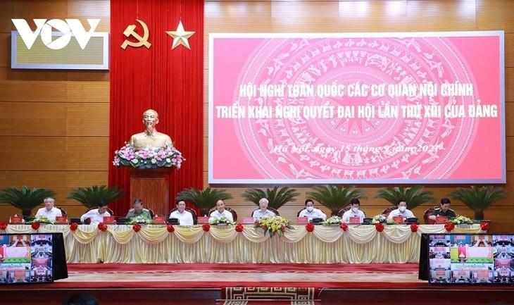 Tomar al pueblo como la raíz: una pauta clave de los órganos de asuntos interiores de Vietnam - ảnh 1