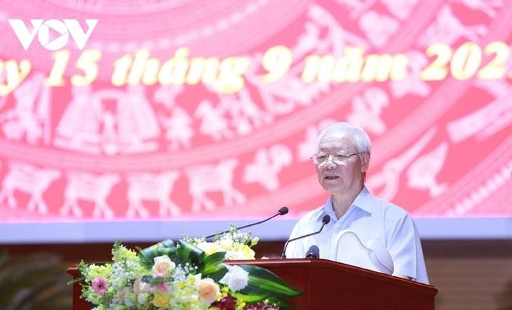 Tomar al pueblo como la raíz: una pauta clave de los órganos de asuntos interiores de Vietnam - ảnh 2