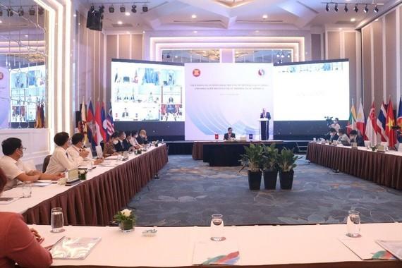 Inauguran la XXI Conferencia de altos funcionarios de la ASEAN sobre minerales - ảnh 1