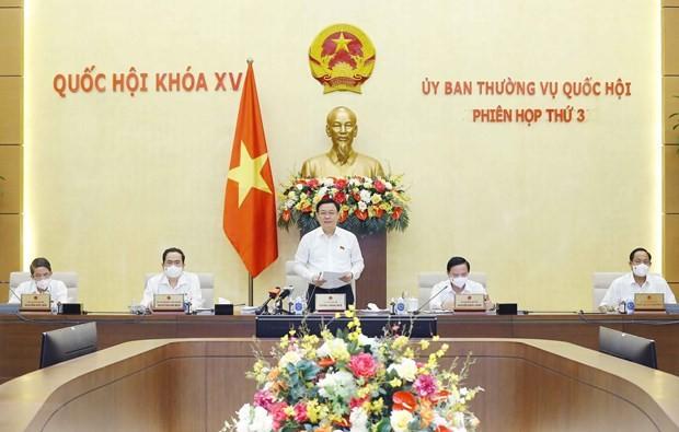 Preparan la agenda de la cuarta reunión del Comité Permanente del Parlamento vietnamita - ảnh 1