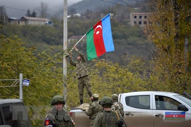 Haut-Karabakh : la Russie, la France et les États-Unis appellent au retrait des mercenaires - ảnh 1