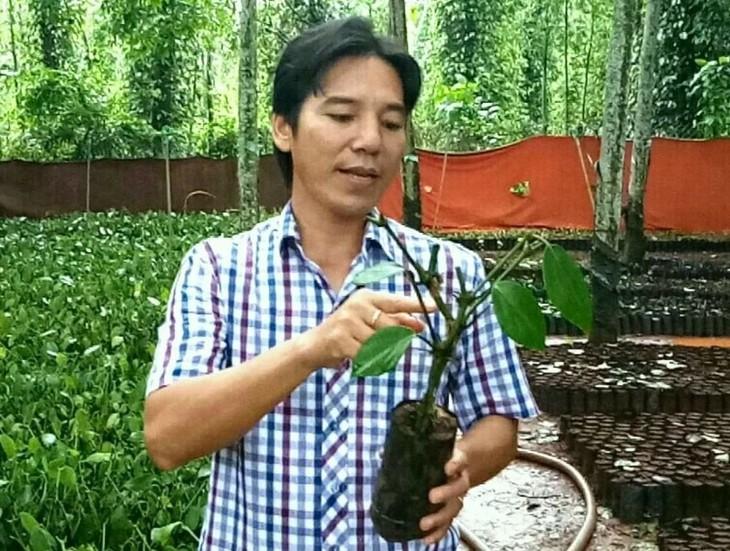 Bâu Mây, la marque vietnamienne de poivre la plus chère    - ảnh 1