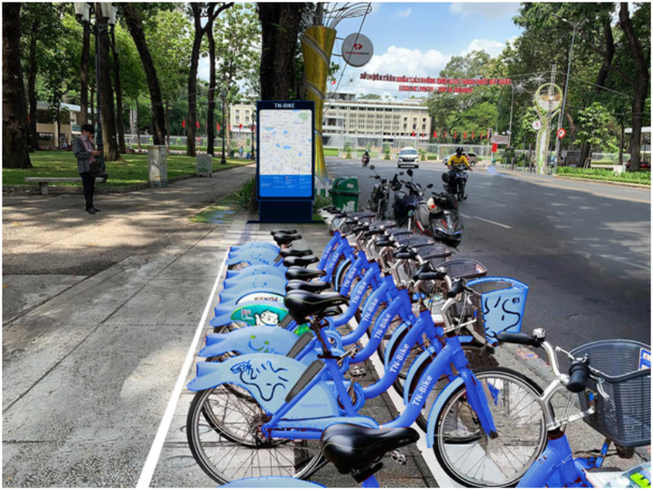 Hô Chi Minh-Ville : les vélos publics Mobike au banc d'essai  - ảnh 1