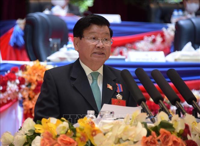 Congrès du PRPL: messages de felicitation des dirigeants vietnamiens  - ảnh 1