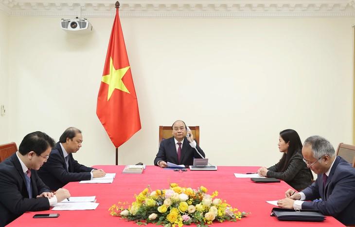 Entretien téléphonique entre Nguyên Xuân Phuc et Scott Morrison - ảnh 1