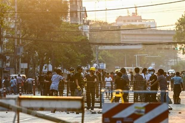 Myanmar : déclaration de la loi martiale à Rangoun - ảnh 1