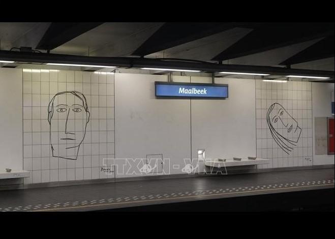 Cérémonie d'hommage aux victimes des attentats à Bruxelles - ảnh 1
