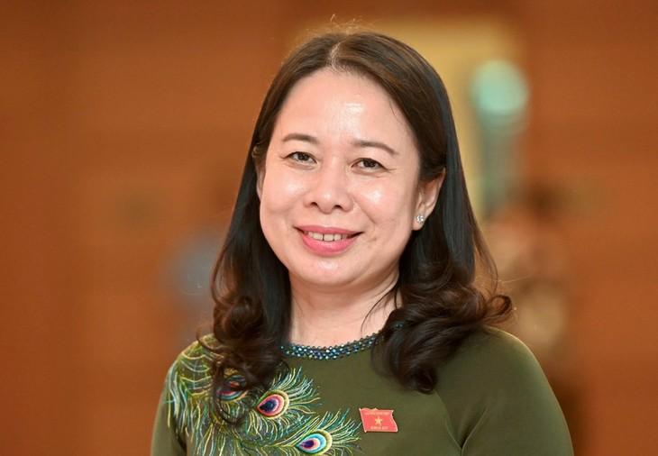 Vo Thi Anh Xuân élue vice-présidente de la République - ảnh 1