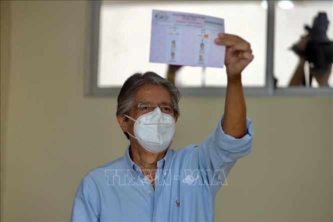 Équateur : Guillermo Lasso élu nouveau président - ảnh 1