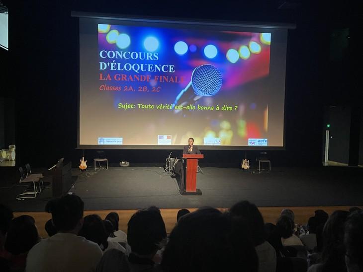L'éloquence à l'honneur au lycée français Alexandre Yersin… - ảnh 3