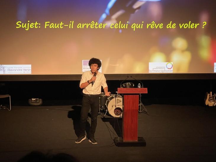 L'éloquence à l'honneur au lycée français Alexandre Yersin… - ảnh 2