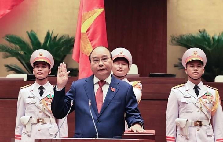 Nguyên Xuân Phuc réélu au poste de président de la République  - ảnh 1
