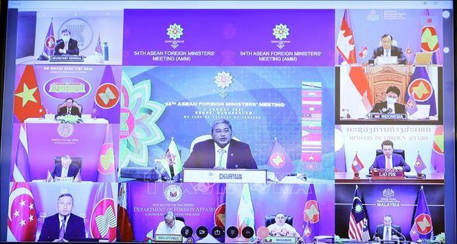 Ouverture de la 54e Conférence des ministres des Affaires étrangères de l'ASEAN - ảnh 1