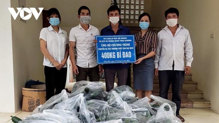 Les habitants de Son La soutiennent leurs compatriotes du Sud - ảnh 1