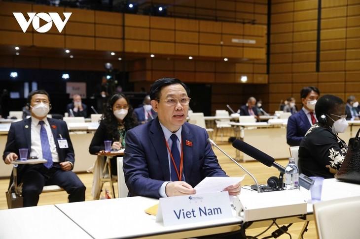 Le Vietnam promeut une coopération parlementaire multilatérale - ảnh 1