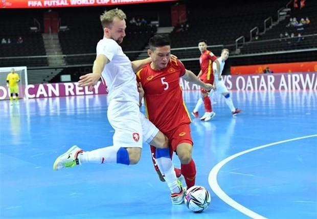 Les medias tchèques félicitent l'équipe vietnamienne de futsal - ảnh 1