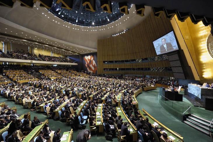 สมัชชาใหญ่สหประชาชาติจะจัดการประชุมเกี่ยวกับสถานการณ์ในประเทศซีเรีย - ảnh 1