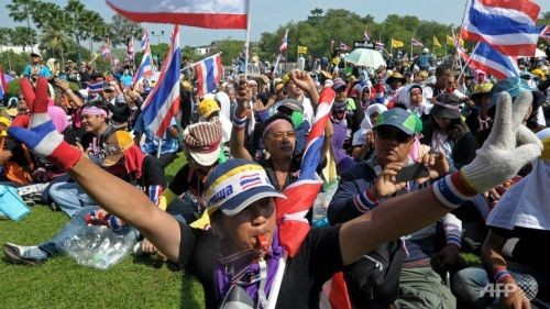สถานการณ์การเมืองไทยคลี่คลายลง - ảnh 1
