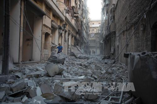 การสู้รบอย่างดุเดือดในซีเรียหลังการยกเลิกคำสั่งหยุดยิง - ảnh 1