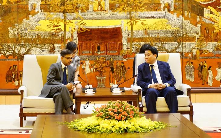 ขยายความร่วมมือระหว่างกรุงฮานอยกับท้องถิ่นต่างๆของอินเดีย - ảnh 1