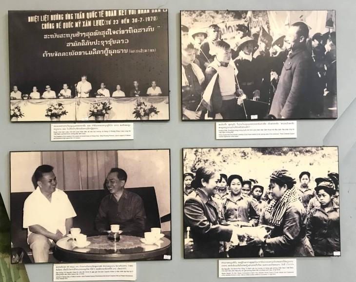 อนุสรณ์สถานประธานโฮจิมินห์ในแขวงคำม่วน ประเทศลาว ร่องรอยเกี่ยวกับความสามัคคีเวียดนาม – ลาว - ảnh 11