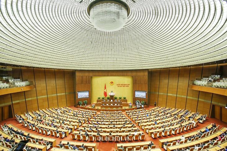 สภาแห่งชาติเวียดนามเสร็จสิ้นการประชุมครั้งที่ 9 สมัยที่ 14 ด้วยผลสำเร็จอย่างงดงาม - ảnh 1