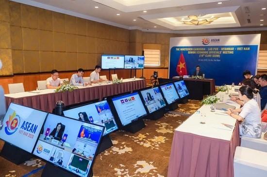 การประชุม CLMV SEOM ครั้งที่ 19 หารือหลายประเด็นสำคัญ - ảnh 1