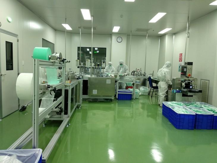 """พิธีเปิดโรงงานผลิตหน้ากากอนามัย CP Vietnamและโครงการ""""หน้ากากแห่งความเมตตา"""" - ảnh 3"""