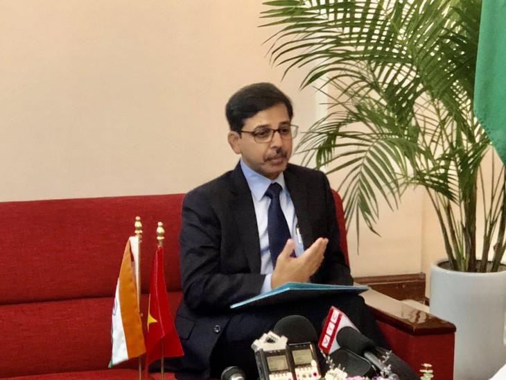 อินเดียพร้อมขยายความสัมพันธ์หุ้นส่วนเชิงยุทธศาสตร์อย่างรอบด้านกับเวียดนาม  - ảnh 1