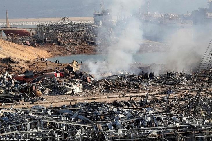 รัฐมนตรีต่างประเทศอาเซียนออกแถลงการณ์เกี่ยวกับเหตุระเบิด ณ กรุงเบรุต ประเทศเลบานอน - ảnh 1