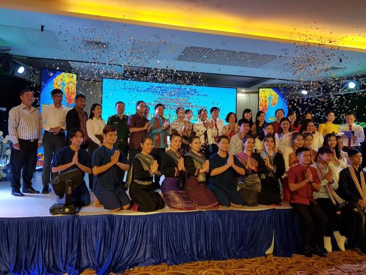 งานเทศกาลปีใหม่ตามประเพณีของกัมพูชา - ลาว - ไทย - ảnh 2