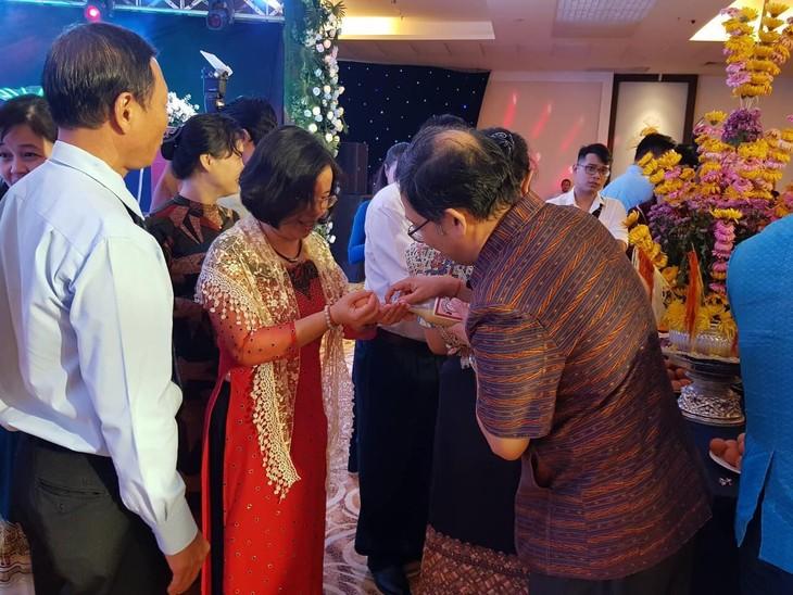 งานเทศกาลปีใหม่ตามประเพณีของกัมพูชา - ลาว - ไทย - ảnh 4