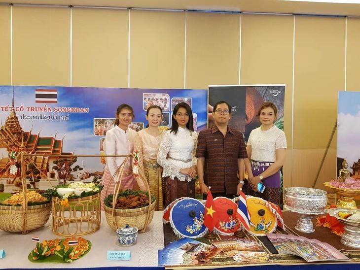 งานเทศกาลปีใหม่ตามประเพณีของกัมพูชา - ลาว - ไทย - ảnh 5
