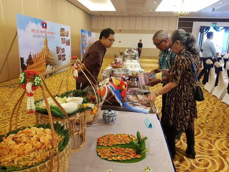 งานเทศกาลปีใหม่ตามประเพณีของกัมพูชา - ลาว - ไทย - ảnh 6