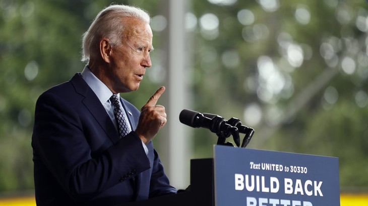 Biden leads Trump nationally by double digits - ảnh 1