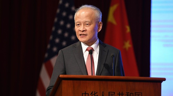 Chinese Ambassador: US-China relations go in wrong direction - ảnh 1