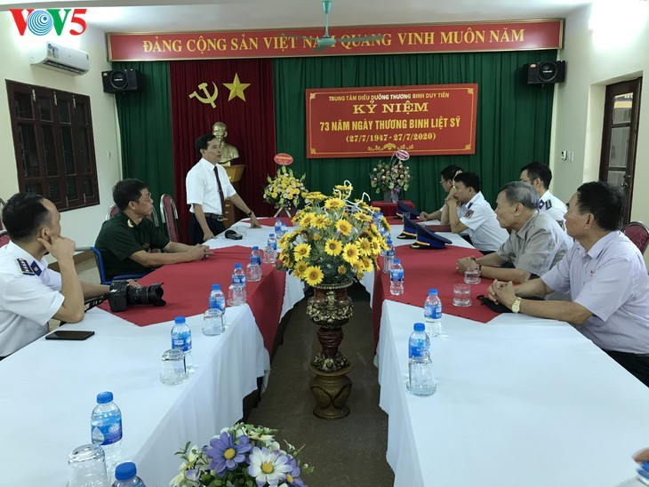 75/5000 Duy Tien War Invalids Nursing Center - A place to relieve the pain of war - ảnh 10