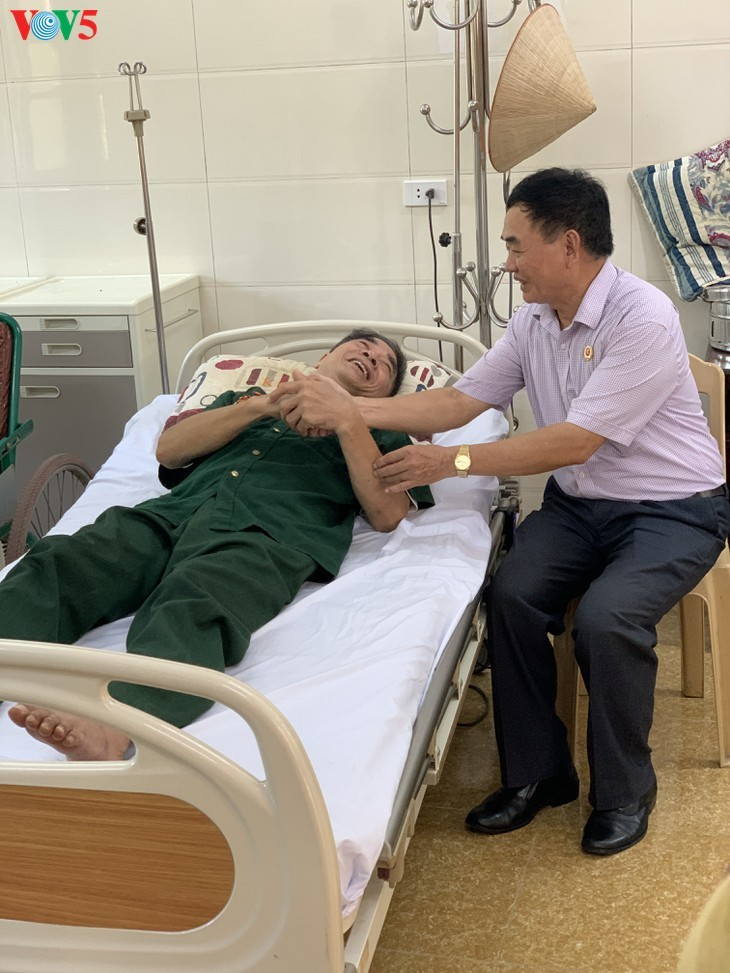 75/5000 Duy Tien War Invalids Nursing Center - A place to relieve the pain of war - ảnh 13