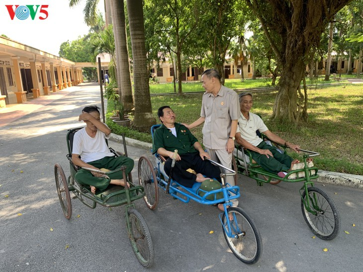 75/5000 Duy Tien War Invalids Nursing Center - A place to relieve the pain of war - ảnh 3