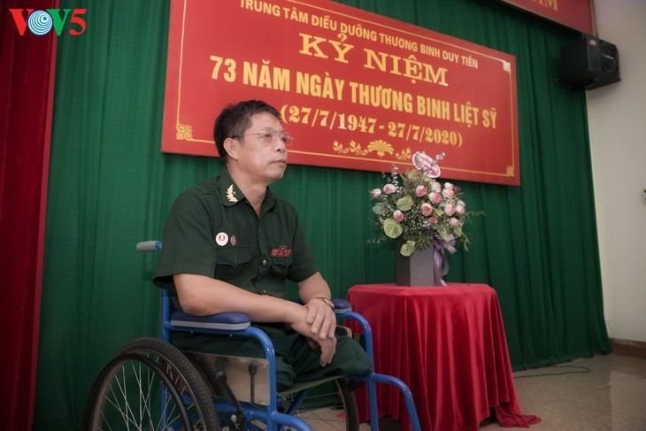 75/5000 Duy Tien War Invalids Nursing Center - A place to relieve the pain of war - ảnh 5