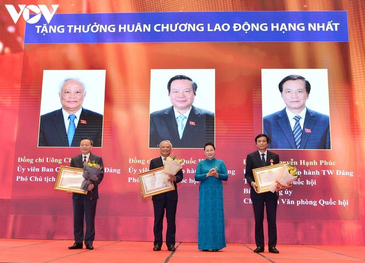 Ceremony marks 75th anniversary of August Revolution and Tan Trao National Congress - ảnh 1