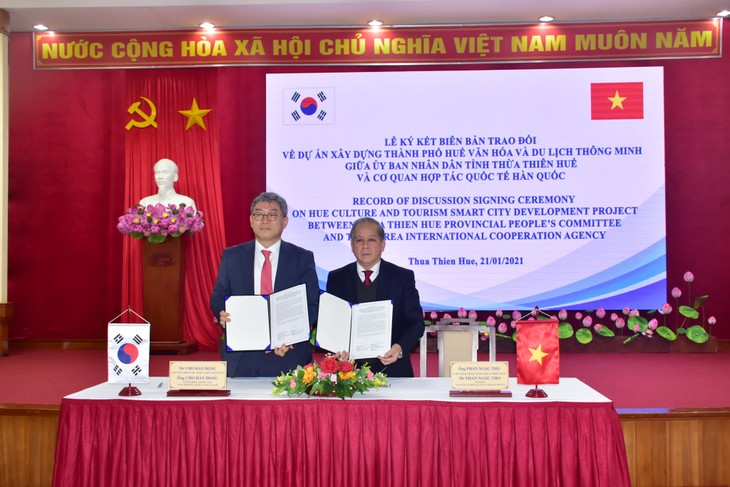 KOICA donates 13 million USD to develop Hue city - ảnh 1