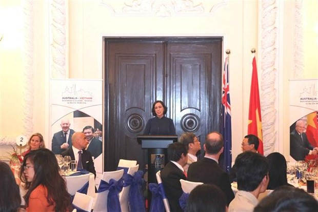 Vietnam-Australia diplomatic ties marked in HCM City - ảnh 1