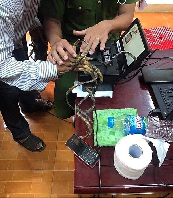 Man with 86-cm nails unable to get fingerprints scanned for new ID - ảnh 1