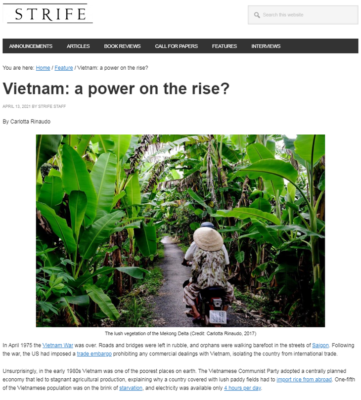 UK's newspaper highlights Vietnam's development strides - ảnh 1