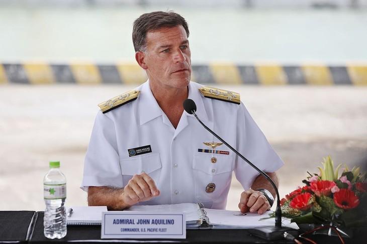 US Senate confirms Admiral John Aquilino to lead Indo-Pacific Command - ảnh 1
