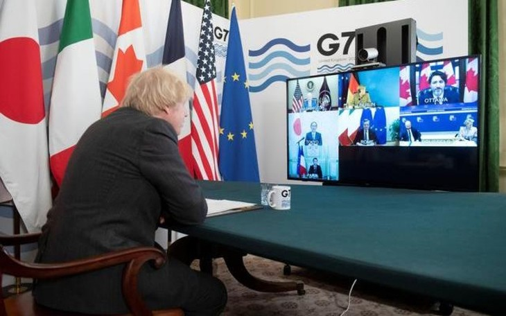 G7 foreign ministers discuss relations with China, Russia - ảnh 1