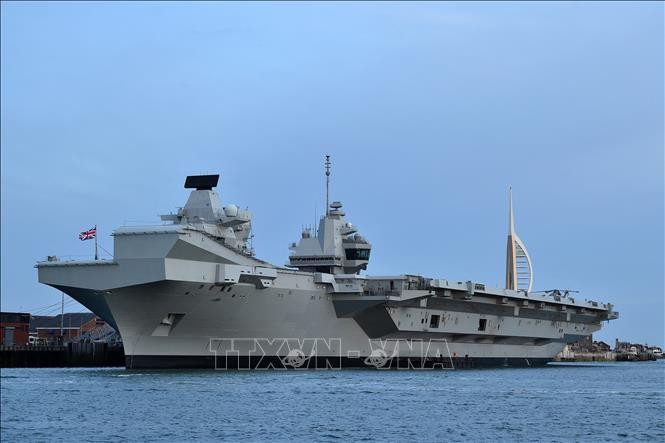 UK, US pledge freedom of the seas in Indo-Pacific - ảnh 1