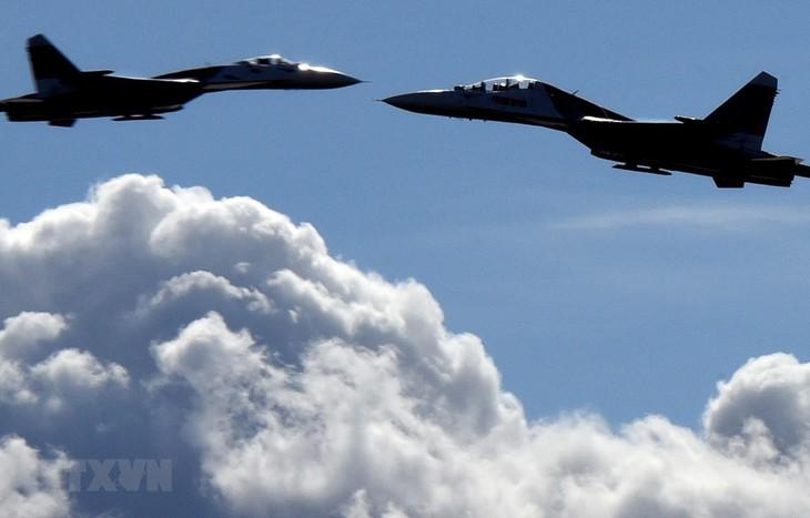 Russian fighter jets intercept US reconnaissance planes in Black Sea - ảnh 1